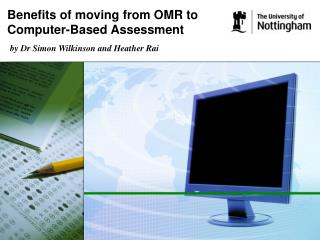 Benefits of moving from OMR to Computer-Based Assessment