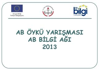 AB ÖYKÜ YARIŞMASI AB BİLGİ AĞI 201 3