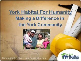 York Habitat For Humanity