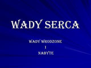 WADY SERCA