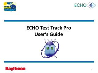 ECHO Test Track Pro User s Guide