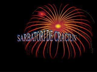 SARBATORI DE CRACIUN