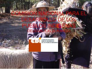 COMISION NACIONAL PARA EL DESARROLLO DE LOS PUEBLOS INDIGENAS DELEGACION DURANGO