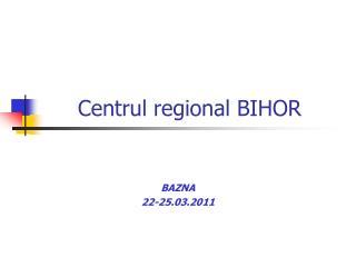 Centrul regional BIHOR