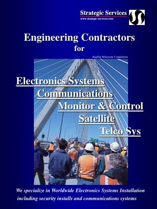 Engineering Contractors for