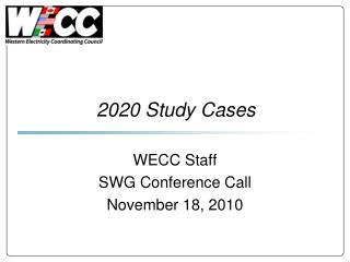 2020 Study Cases