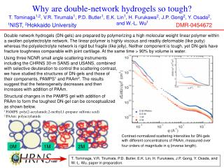 Why are double-network hydrogels so tough?