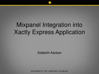 Mixpanel Integration into Xactly Express Application