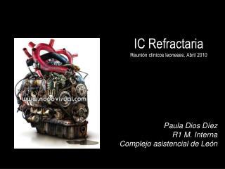 IC Refractaria Reunión clínicos leoneses. Abril 2010