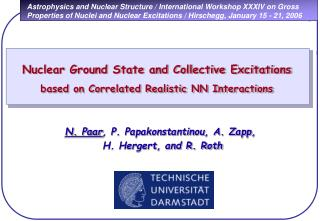 Nuclear Ground State and Collective Excitations based on Correlated Realistic NN Interactions