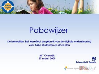 Pabowijzer