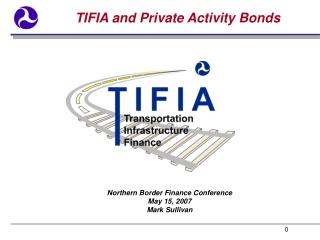 TIFIA and Private Activity Bonds