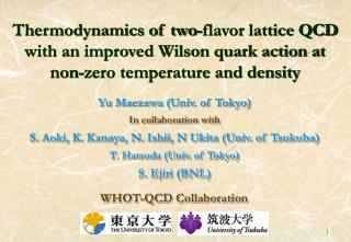 Yu Maezawa (Univ. of Tokyo) In collaboration with