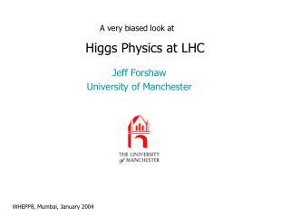 Higgs Physics at LHC