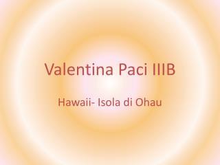 Valentina Paci IIIB