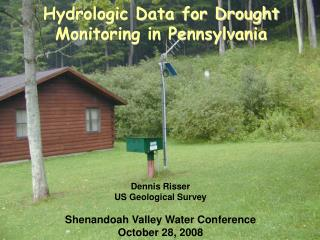 Hydrologic Data for Drought Monitoring in Pennsylvania