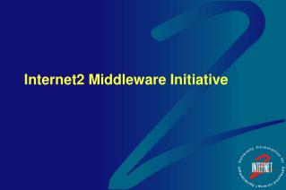 Internet2 Middleware Initiative
