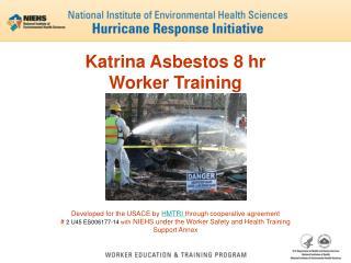 Katrina Asbestos 8 hr  Worker Training