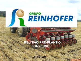 REUNIÃO PRÉ-PLANTIO INVERNO