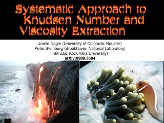 Systematic Approach to Knudsen Number and Viscosity Extraction