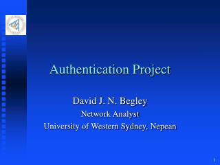 Authentication Project