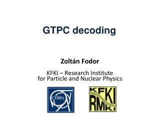 GTPC decoding