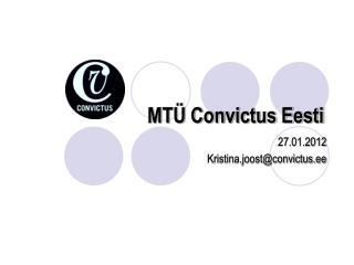 MTÜ Convictus Eesti