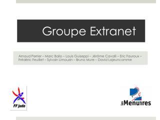 Groupe Extranet