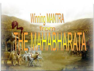 Winning MANTRA