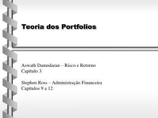 Teoria dos Portfolios