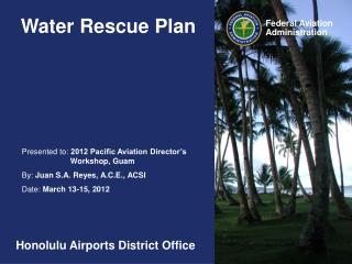 Water Rescue Plan