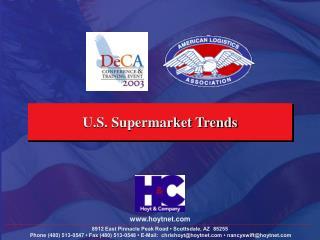 U.S. Supermarket Trends