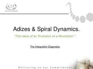 Adizes & Spiral Dynamics.