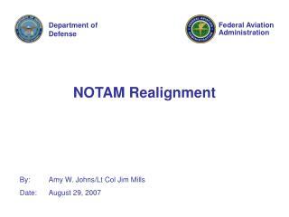 NOTAM Realignment
