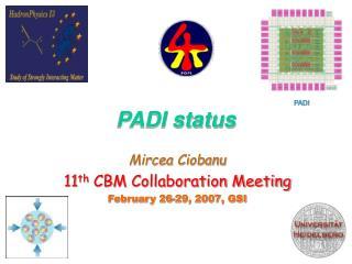 PADI status
