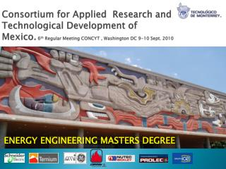 ENERGY ENGINEERING MASTERS DEGREE
