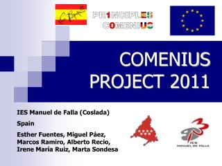 COMENIUS PROJECT 2011