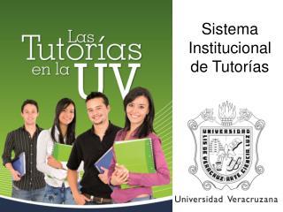 Sistema Institucional de Tutorías