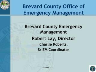 Brevard County Office of  Emergency Management