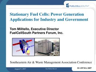 Southeastern Air & Waste Management Association Conference