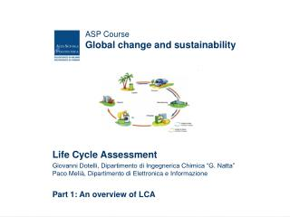 ASP Course Global change and sustainability