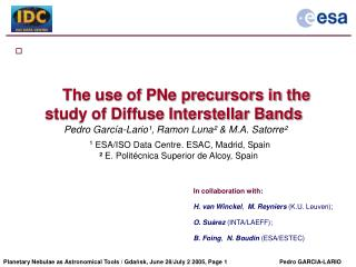 The use of PNe precursors in the study of Diffuse Interstellar Bands