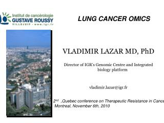 LUNG CANCER OMICS