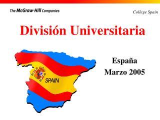 División Universitaria