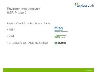 Environmental analysis HSR  Phase  2