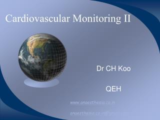 Cardiovascular Monitoring II