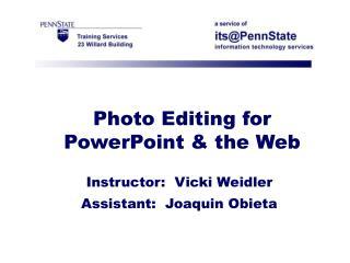 Photo Editing for Fa..