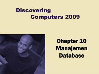 Chapter 10 Manajemen Database