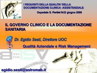 Ospedale S. Pertini 9-22 giugno 2008