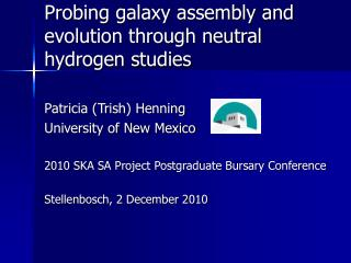 Probing galaxy assembly and evolution through neutral hydrogen studies